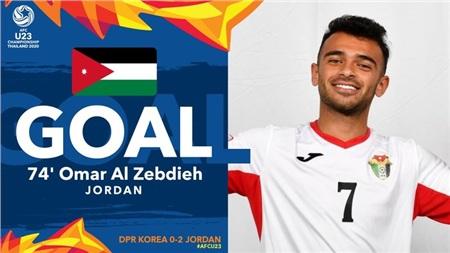 U23 Jordan ghi bàn thắng thứ 2 sau một loạt những pha hãm thành.