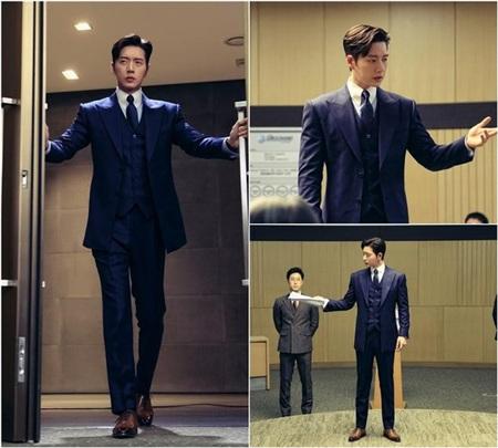 Tạo hình doanh nhân siêu đẹp trai của Park Hae Jin.