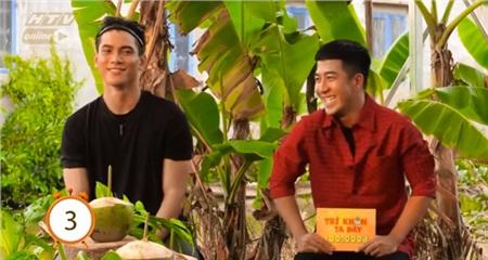 Phạm Hy và Tuấn Kiệt 'đơ người' trước đáp án mà chương trình đưa ra.