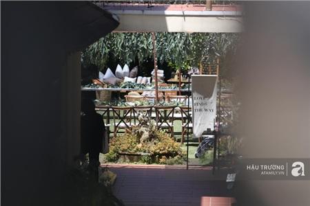 Không gian tiệc cưới bí mật của Tóc Tiên: Khung cảnh lãng mạn như trong phim nhưng đã bị rào kín 'nội bất xuất, ngoại bất nhập' 3