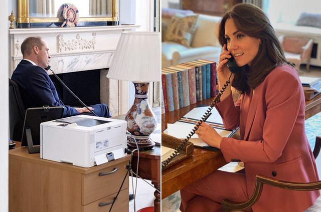 Cặp vợ chồng hiện dẫn đầu chỉ đạo ứng phó dịch ở hoàng gia trong thời gian cách ly xã hội tại cung điện.