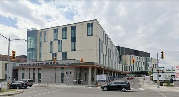 Bệnh viện nơiSchofield làm xét nghiệm COVID-19.