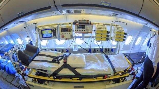 Bên cạnh 16 giường cho bệnh nhân chăm sóc đặc biệt, MedEvac còn có 28 giường bệnh thường.