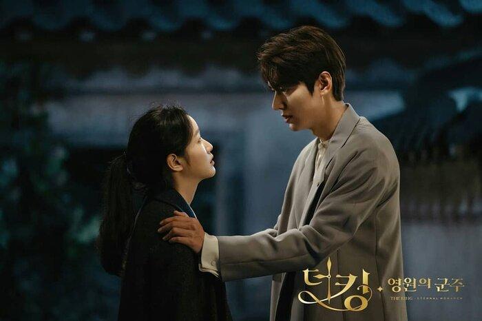 Rating phim 'Quân vương bất diệt' giảm trước hai tập cuối - Lee Min Ho ngồi xem Lee Gon 0