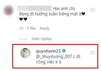 Fan hâm mộ thắc mắc sao mãi không đi tuần trăng mật, Quỳnh Anh thay Duy Mạnh tiết lộ lý do khá buồn 2