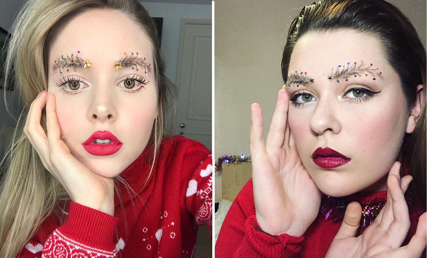 Trend mới kỳ quặc của phái đẹp trên Instagram: Các chị em xê ra để lông mày nhọ nồi 'vô cực' lên ngôi! 19
