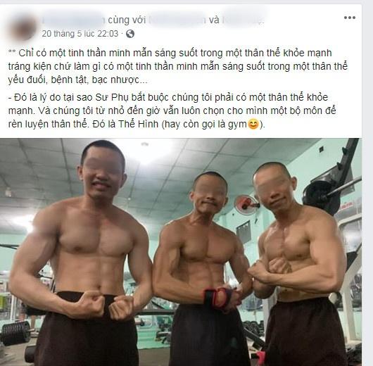 Những hình này được chính các 'sư thầy' trong Tịnh Thất bồng Lai đăng tải...