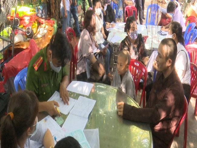 Tịnh Thất Bồng Lai bị kiểm tra vào ngày 21/5 vừa qua.