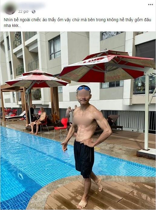 Xôn xao hình ảnh các 'sư thầy' Tịnh Thất Bồng Lai đi resort tránh nắng, khoe body 6 múi ở hồ bơi sau ồn ào bị điều tra 2