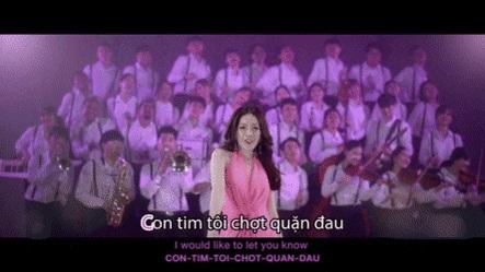 Hình ảnh Chi Pu xuất hiện và hát tiếng Việt trong ca khúc Kid Mak.