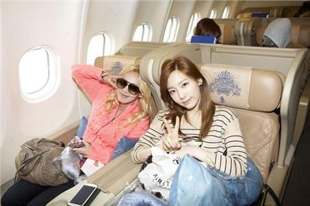 Cô nàng Hyoyeon và Taeyeon.