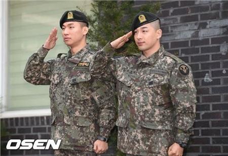 Hai anh chàngDaesung và Taeyang của nhóm Big Bang.