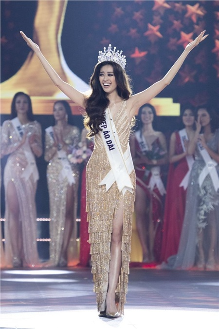 Hoa hậu Hoàn vũ Việt Nam 2019 chính thức gọi tên Nguyễn Trần Khánh Vân.
