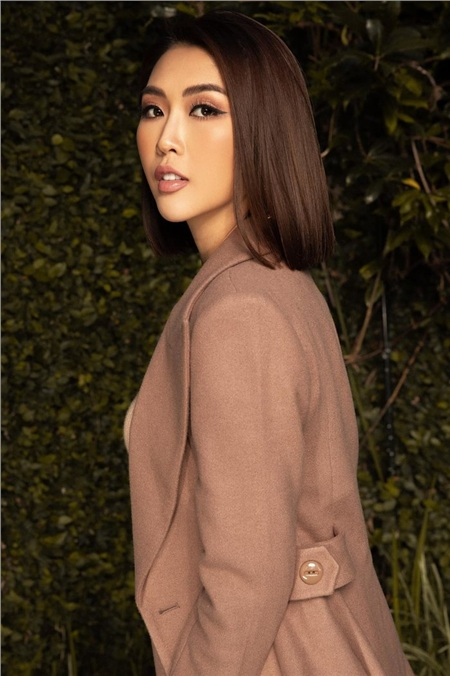 Hoa hậu Tường Linh.