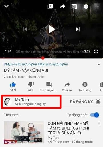 Kênh Youtube Mỹ Tâm lộ lượng đăng ký 'khủng', hot như Sơn Tùng M-TP cũng phải cúi đầu chào thua 2