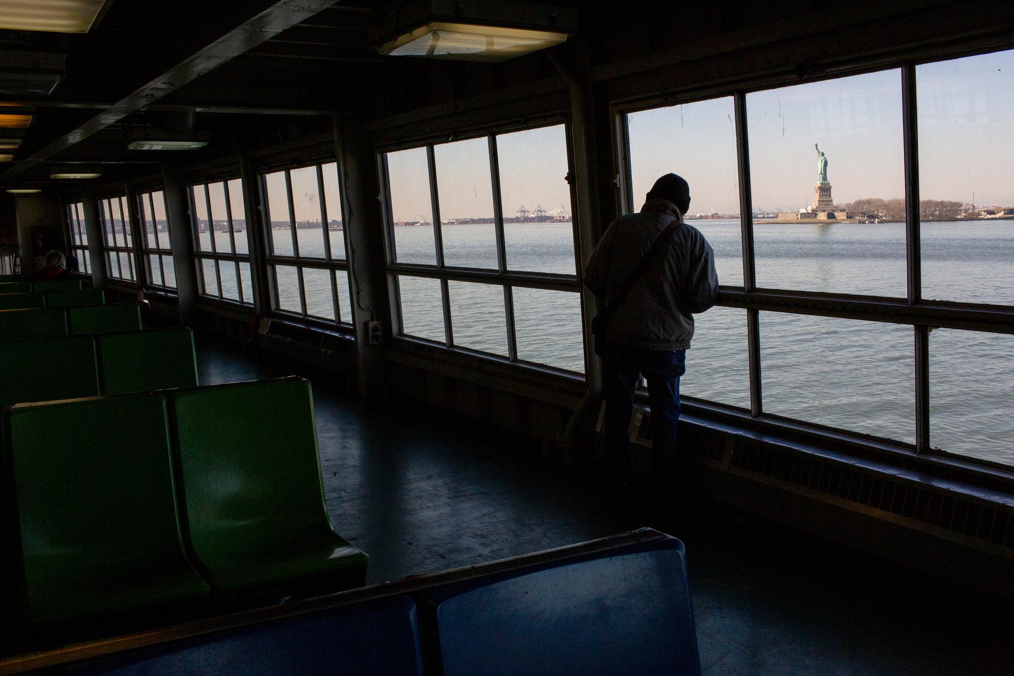 Bầu không khí tại các khu vực khác của New York cũng trở nên tĩnh lặng.