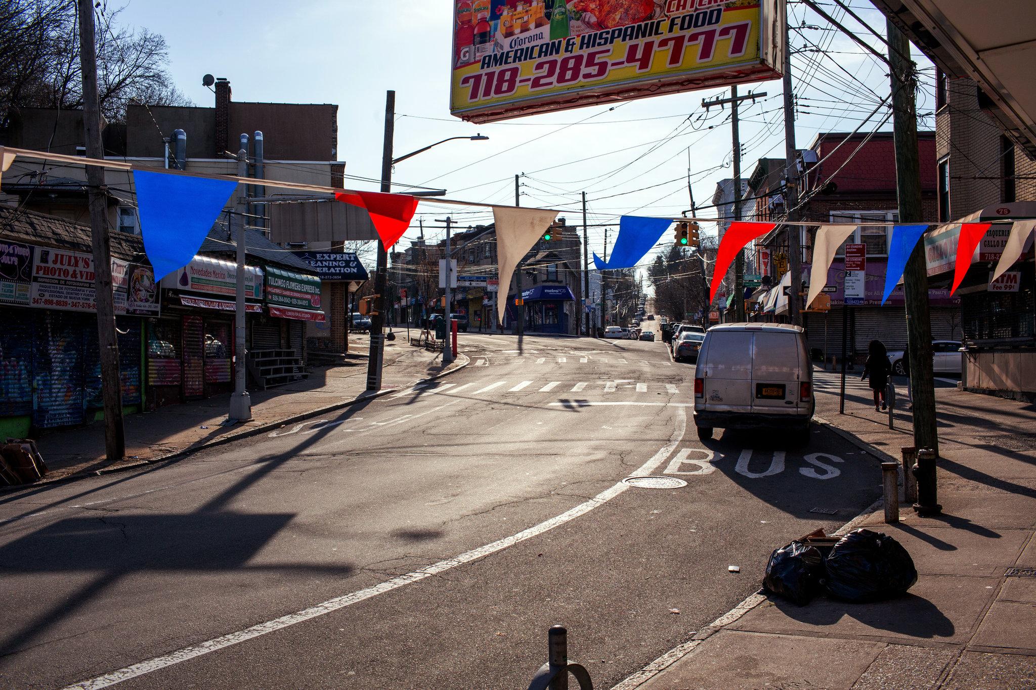 Đại lộ Chiến thắng ở Đảo Staten.