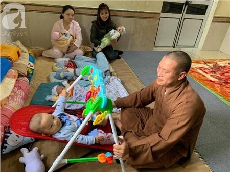 Hiện tại có 29 trẻ em với đủ các hoàn cảnh đang được nhà chùa nuôi dưỡng