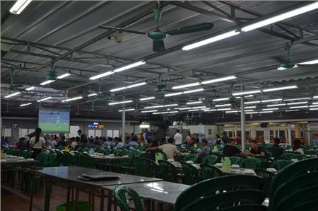 Sợ bị phạt nồng độ cồn, người hâm mộ bỏ quán nhậu, đổ đến cafe xem trận Việt Nam - UAE 6