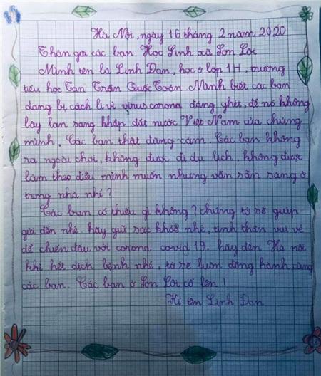 Tâm thư xúc động của học trò Hà Nội gửi học sinh Vĩnh Phúc: 'Các bạn có thiếu gì không, chúng mình gửi lên nhé. Covid-19 sẽ đầu hàng thôi!' 7