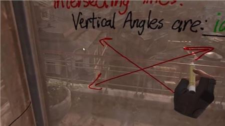 Học online sướng như game thủ khi được thầy giáo dùng hẳn Half-Life: Alyx để dạy toán 4