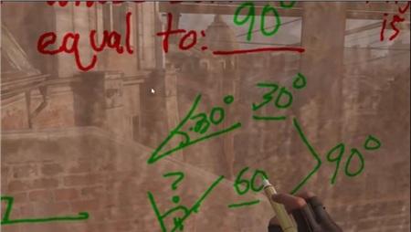 Học online sướng như game thủ khi được thầy giáo dùng hẳn Half-Life: Alyx để dạy toán 1