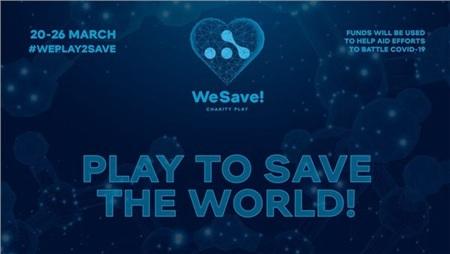 Tổ chức We Play! chọn cách tổ chức giải đấu từ thiện vừa phục vụ game thủ DOTA2, vừa chống lại dịch bệnh