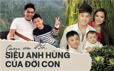 Nhân ngày của Cha, kể về những ông bố dượng tuyệt vời nhất showbiz Việt: Chính trái tim đã khiến chúng ta trở thành cha con 0