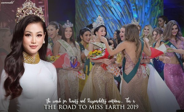 Miss Earth Phương Khánh bắt đầu hành trình tìm kiếm người kế vị vương miện 2