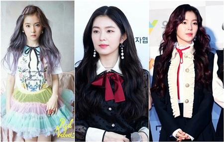Không riêng gì Jennie, Irene (Red Velvet) cũng là một tín đồ của Gucci