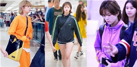 Trong khi các idol khác chỉ thích mặc màu tím thì JungYeon có hẳn bộ sưu tập quần áo nhiều màu của thương hiệu này