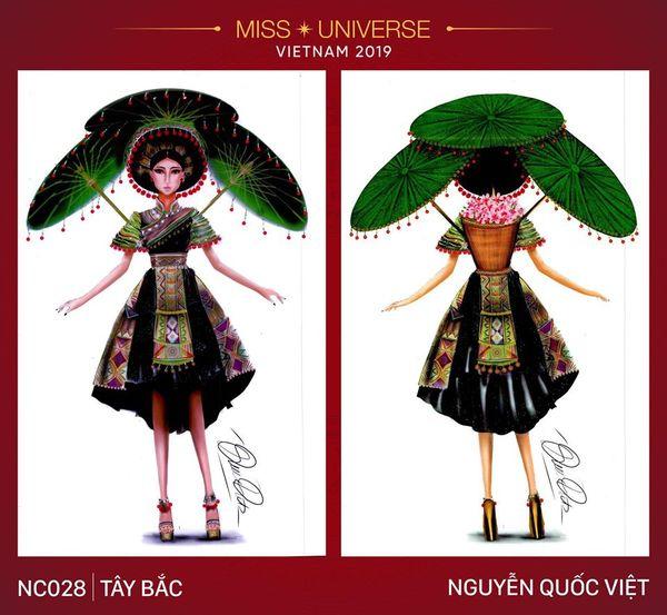 Tuy nhiên bộ trang phục này cũng bị so sánh với bộ trang phục 'Sơn nữ H'Mông' của Hoa hậu Diệu Linh.