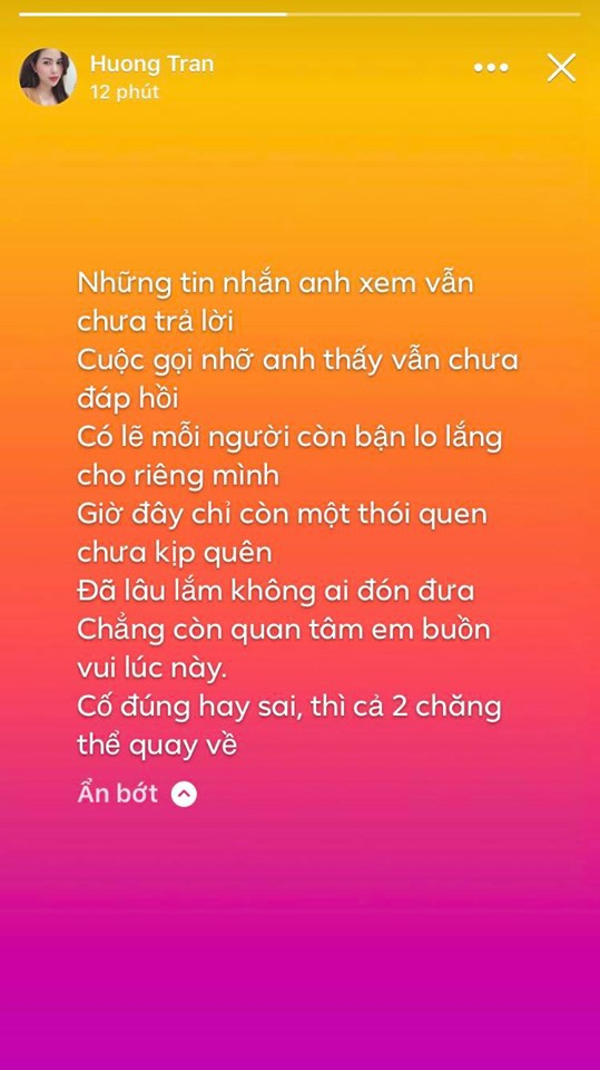 Bà xã Việt Anh 'Người phán xử' liên tiếp đăng story buồn, dấu hiệu cặp đôi sắp tan vỡ? 1