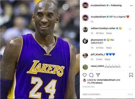 Justin Bieber, Taylor Swift... cùng loạt sao nổi tiếng thế giới bàng hoàng trước tin huyền thoại bóng rổ Kobe Bryant và con gái 13 tuổi qua đời vì tai nạn trực thăng 8