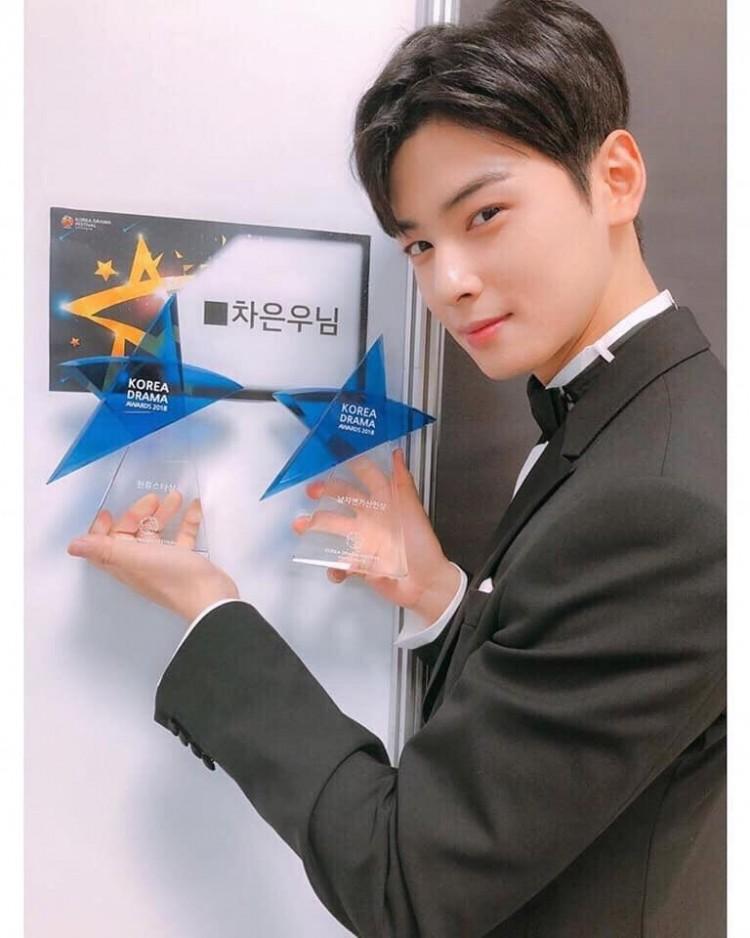 Korea Drama Awards 2018: 'Marry Me Now', Cha Eun Woo và Chansung nhận giải thưởng lớn - 'Chị đẹp' trắng tay 8