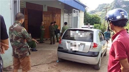 Căn nhà chị Huế xảy ra vụ án.