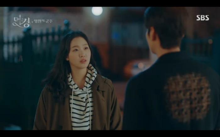 Jung Tae Eul nằng nặc đòi Lee Gon kiểm chứng cánh cổng trong rừng tre.