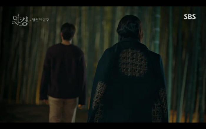 'Quân vương bất diệt' tập 3: Lee Min Ho chia tay Kim Go Eun để trở về thế giới cũ? 5
