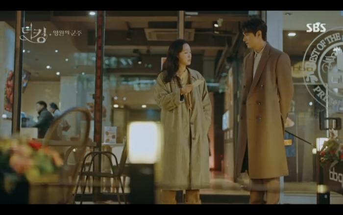 'Quân vương bất diệt' tập 3: Lee Min Ho chia tay Kim Go Eun để trở về thế giới cũ? 16