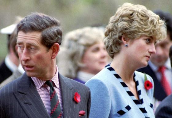 Mối quan hệ giữa Công nương Diana và Thái tử Charles bị cho là đã rạn nứt từ lâu.