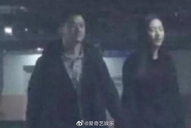 Hình ảnh Lý Á Bằng và bạn gái mới.