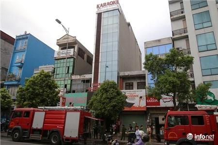 Vụ hỏa hoạn xảy ra vào khoảng 14h45' ngày 28/7, tại 56 Ngô Gia Tự