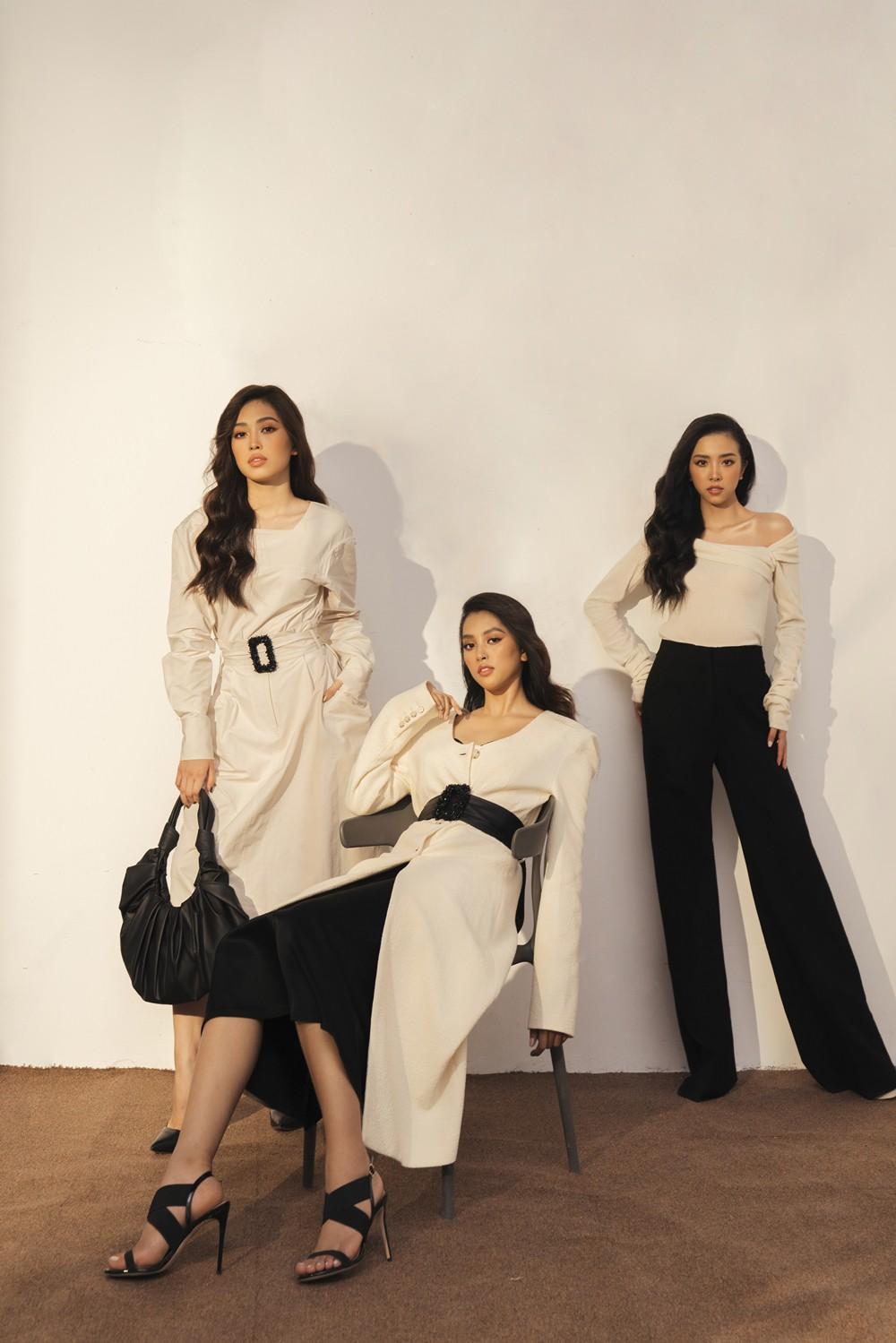 Bộ ảnh kỷ niệm 1 năm đăng quang cực khác biệt của Hoa hậu Tiểu Vy, Á hậu Phương Nga, Thúy An 2