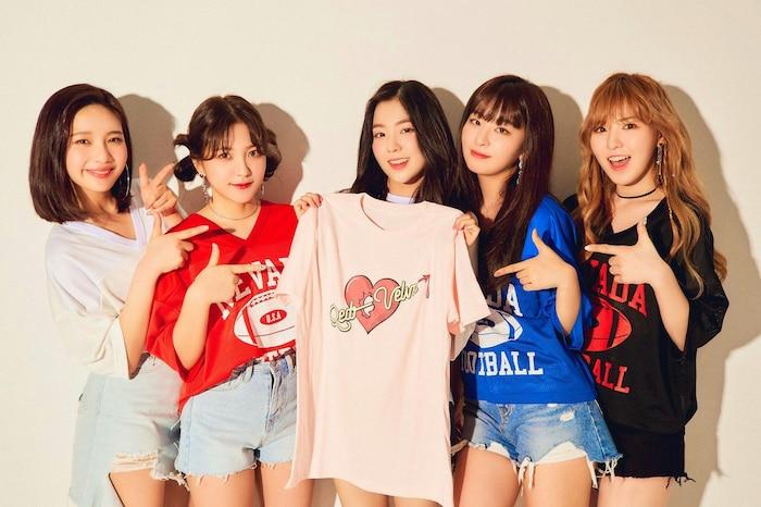 Red Velvet bứt phá vươn lên đầu bảng.