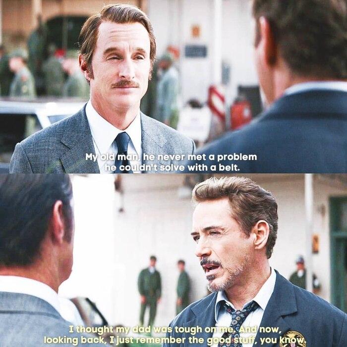 Iron Man gặp lại bố khi quay ngược thời gian thu thập Đá Vô cực