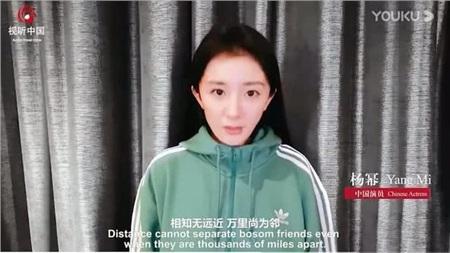 Cùng xuất hiện trong video cổ vũ chống dịch: Triệu Lệ Dĩnh lẫn Dương Mịch đều bị chê bai xấu xí 11