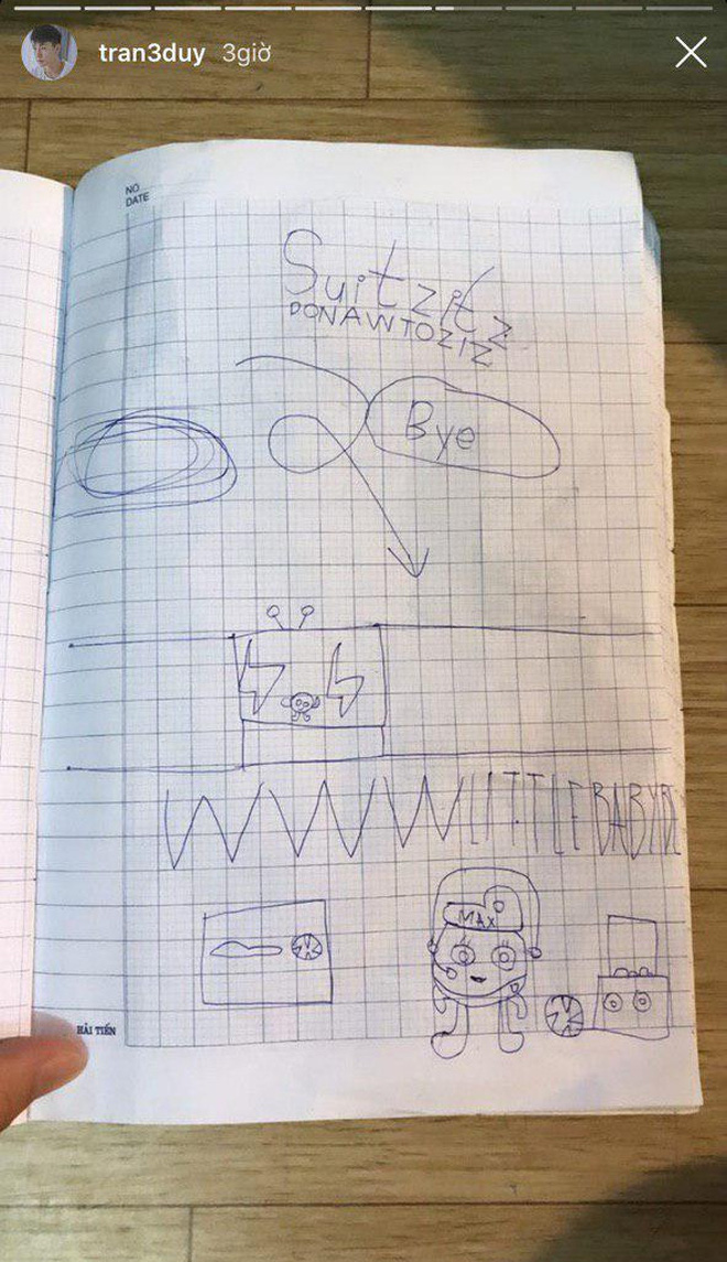 Đậu nhà Ba Duy - Nam Thương đã đọc chữ vanh vách từ năm 3 tuổi, thích học cả tiếng Anh - Nga - Hy Lạp 7