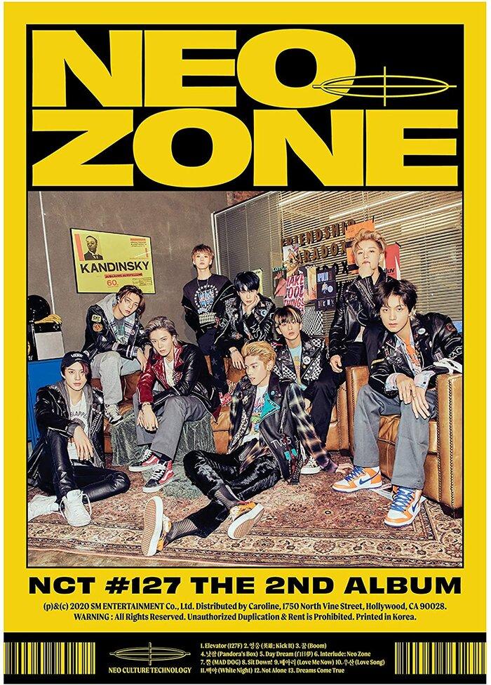 Bìa album Neo Zone - NCT 127.
