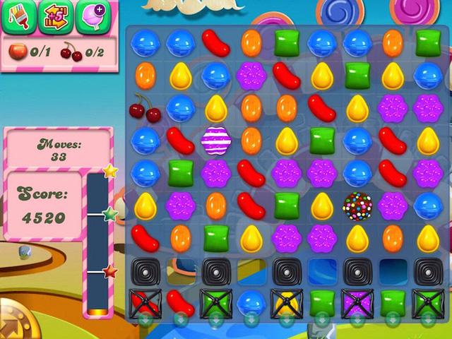 Candy Crush - tựa game thử thách sự kiên nhẫn của tất cả mọi người.