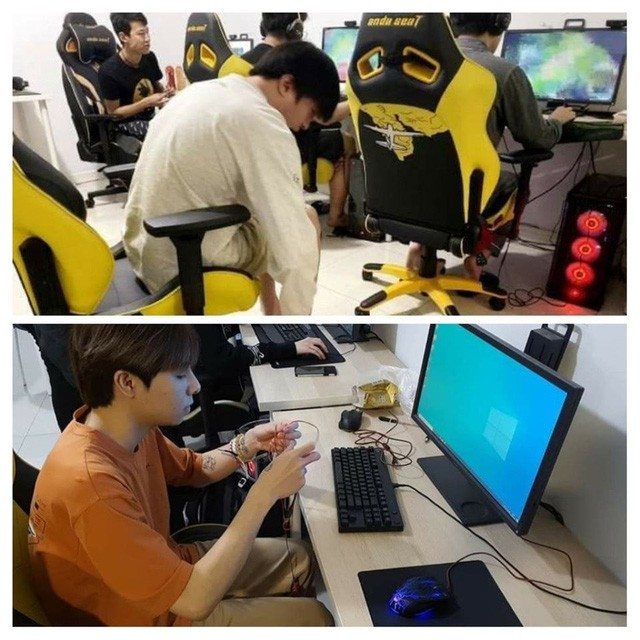 Thời điểm Zeros sang Trung Quốc, có rất nhiều bằng chứng cho thấy anh đã xuất hiện ở Gaming House của Victory Five